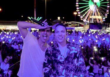 Javier Rosas y Adriel Favela. Foto: Cortesía del artista