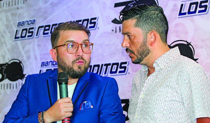 """Poncho Lizárraga y Luis Ángel Franco """"El Flaco"""". Foto: TVyNovelas"""