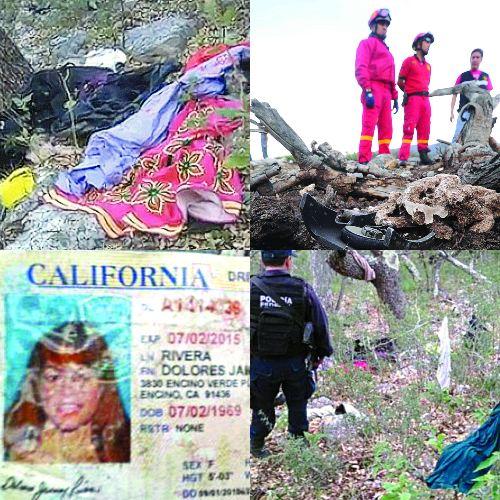 Accidente Jenni Rivera. Foto: Archivo