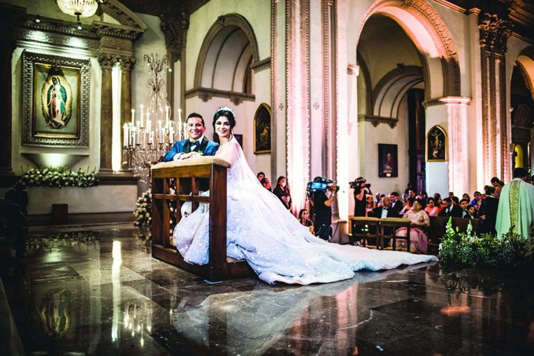 Boda Edwin Luna y Kim Flores. Fotos: Cortesía de Remex Music/ Alan Photographer Mx