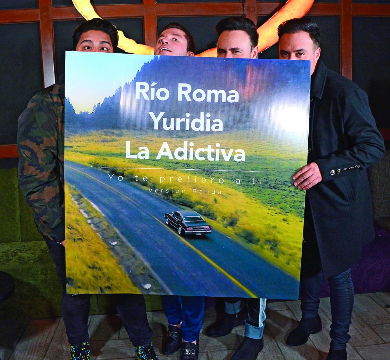 Río Roma y La Adictiva. Foto: Ricardo Cristino