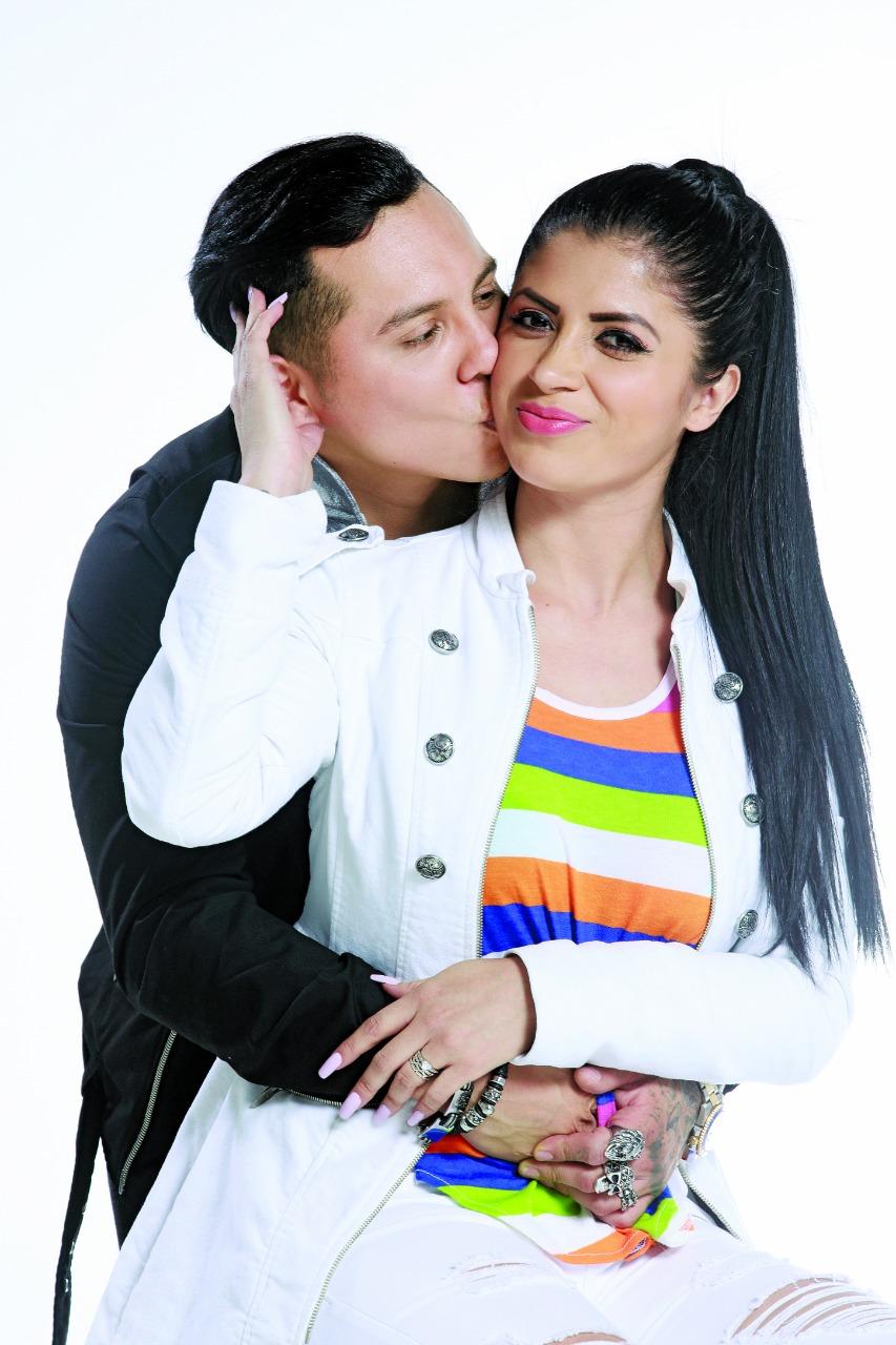 Edwin Luna y Kimberly Flores. Foto: Archivo
