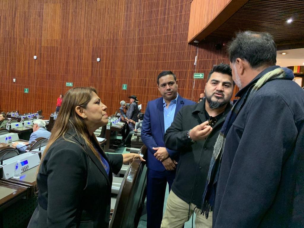 Luis Antonio López El Mimoso en la Cámara de Diputados. Foto: Cortesía